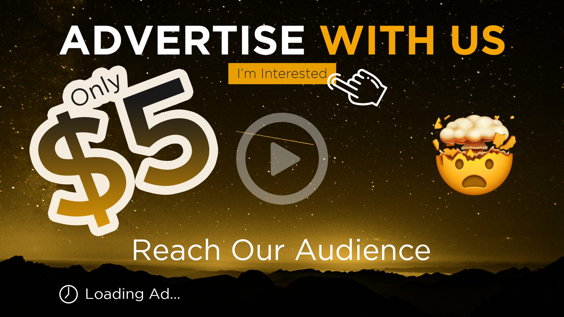 Advertise with us — Popcorn Trailer